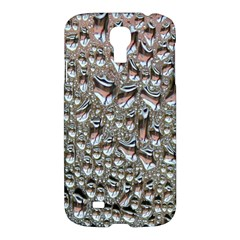 Droplets Pane Drops Of Water Samsung Galaxy S4 I9500/i9505 Hardshell Case