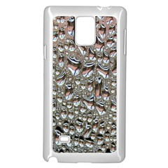 Droplets Pane Drops Of Water Samsung Galaxy Note 4 Case (white)