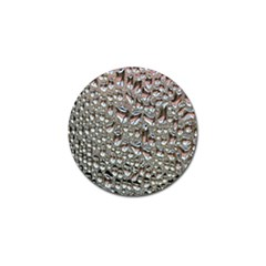 Droplets Pane Drops Of Water Golf Ball Marker (4 Pack)