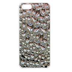 Droplets Pane Drops Of Water Apple Iphone 5 Seamless Case (white)
