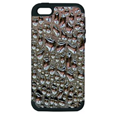 Droplets Pane Drops Of Water Apple Iphone 5 Hardshell Case (pc+silicone)