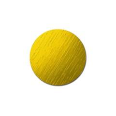 Golden Texture Rough Canvas Golden Golf Ball Marker (4 Pack)