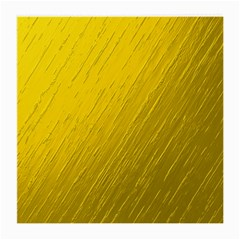 Golden Texture Rough Canvas Golden Medium Glasses Cloth (2 Side)