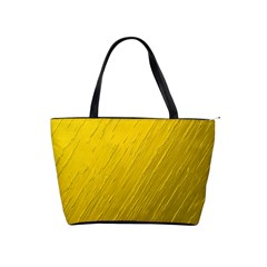 Golden Texture Rough Canvas Golden Shoulder Handbags
