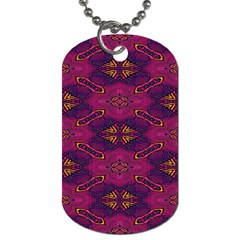 Pattern Decoration Art Abstract Dog Tag (one Side)