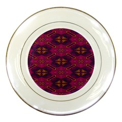 Pattern Decoration Art Abstract Porcelain Plates