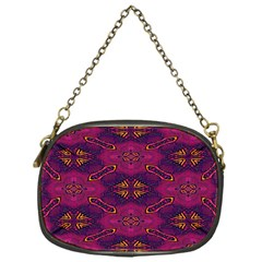 Pattern Decoration Art Abstract Chain Purses (one Side)