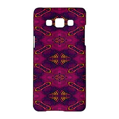 Pattern Decoration Art Abstract Samsung Galaxy A5 Hardshell Case