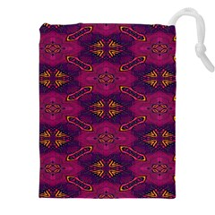 Pattern Decoration Art Abstract Drawstring Pouches (xxl)