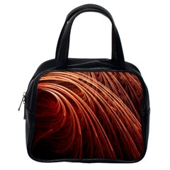 Abstract Fractal Digital Art Classic Handbags (one Side)