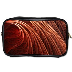 Abstract Fractal Digital Art Toiletries Bags 2 Side