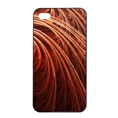 Abstract Fractal Digital Art Apple Iphone 4/4s Seamless Case (black)