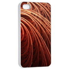 Abstract Fractal Digital Art Apple Iphone 4/4s Seamless Case (white)