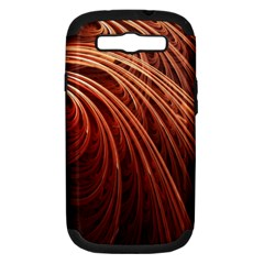 Abstract Fractal Digital Art Samsung Galaxy S Iii Hardshell Case (pc+silicone)