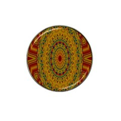 India Mystic Background Ornamental Hat Clip Ball Marker