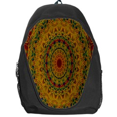 India Mystic Background Ornamental Backpack Bag