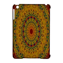 India Mystic Background Ornamental Apple Ipad Mini Hardshell Case (compatible With Smart Cover)