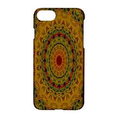 India Mystic Background Ornamental Apple Iphone 7 Hardshell Case