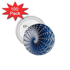 Mandelbrot Fractal Abstract Ice 1 75  Buttons (100 Pack)