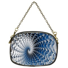Mandelbrot Fractal Abstract Ice Chain Purses (two Sides)