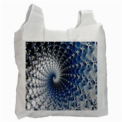 Mandelbrot Fractal Abstract Ice Recycle Bag (two Side)