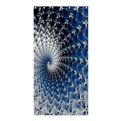 Mandelbrot Fractal Abstract Ice Shower Curtain 36  X 72  (stall)