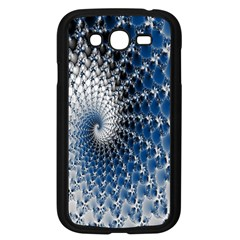 Mandelbrot Fractal Abstract Ice Samsung Galaxy Grand Duos I9082 Case (black)