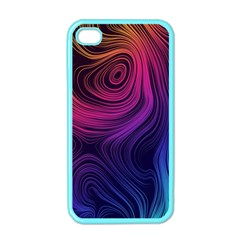 Abstract Pattern Art Wallpaper Apple Iphone 4 Case (color)