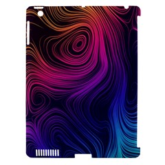 Abstract Pattern Art Wallpaper Apple Ipad 3/4 Hardshell Case (compatible With Smart Cover)