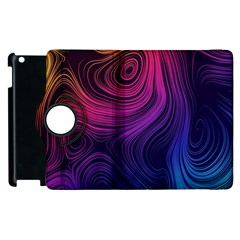 Abstract Pattern Art Wallpaper Apple Ipad 2 Flip 360 Case