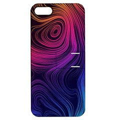 Abstract Pattern Art Wallpaper Apple Iphone 5 Hardshell Case With Stand