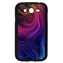 Abstract Pattern Art Wallpaper Samsung Galaxy Grand Duos I9082 Case (black)