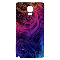 Abstract Pattern Art Wallpaper Galaxy Note 4 Back Case