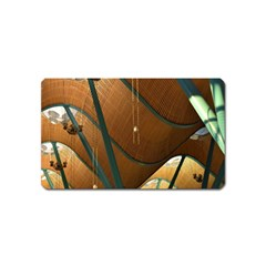 Airport Pattern Shape Abstract Magnet (name Card)