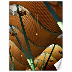 Airport Pattern Shape Abstract Canvas 18  X 24