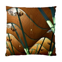 Airport Pattern Shape Abstract Standard Cushion Case (one Side)