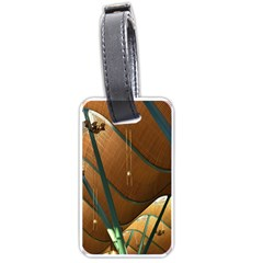 Airport Pattern Shape Abstract Luggage Tags (one Side)