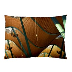 Airport Pattern Shape Abstract Pillow Case (two Sides)