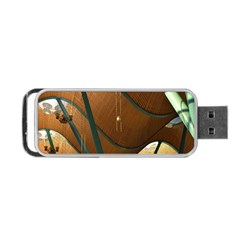 Airport Pattern Shape Abstract Portable Usb Flash (two Sides)