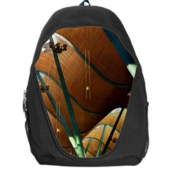 Airport Pattern Shape Abstract Backpack Bag