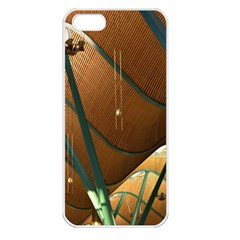 Airport Pattern Shape Abstract Apple Iphone 5 Seamless Case (white)