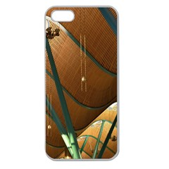 Airport Pattern Shape Abstract Apple Seamless Iphone 5 Case (clear)