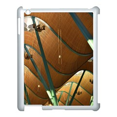 Airport Pattern Shape Abstract Apple Ipad 3/4 Case (white)