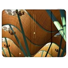 Airport Pattern Shape Abstract Samsung Galaxy Tab 7  P1000 Flip Case