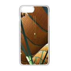 Airport Pattern Shape Abstract Apple Iphone 7 Plus Seamless Case (white)