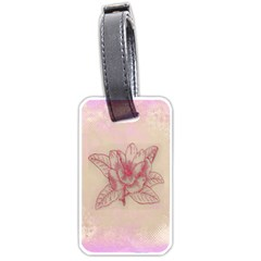 Desktop Background Abstract Luggage Tags (two Sides)