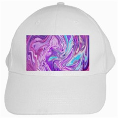Abstract Art Texture Form Pattern White Cap