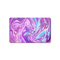 Abstract Art Texture Form Pattern Magnet (name Card)