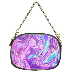 Abstract Art Texture Form Pattern Chain Purses (one Side)