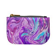 Abstract Art Texture Form Pattern Mini Coin Purses
